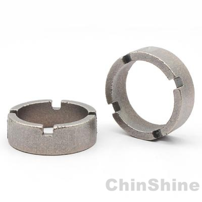 Crown diamond core bit segment