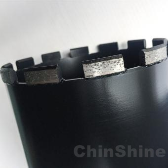 150mm Dry diamond core drill bits for concrete for sale