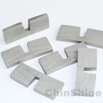 400mm U shape Diamond segment for granite stone
