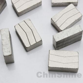 China 1200mm granite cutting segments