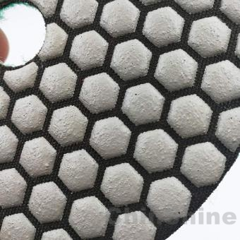 100mm Dry diamond polishing pads