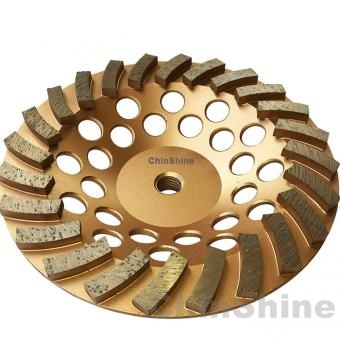 7 Inch concrete turbo diamond grinding cup wheel