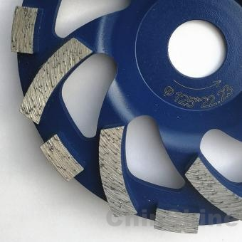 5 Inch&125mm segmented diamond cup wheel disc for concrete