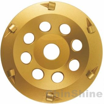 125mm PCD diamond grinding cup wheel