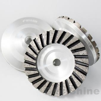 Aluminium diamond grinding cup wheel