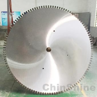 2500mm 3500mm Big diamond saw blade for granite