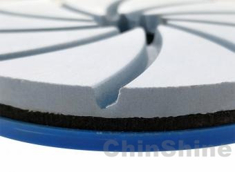 Diamond abrasive edge polishing pads