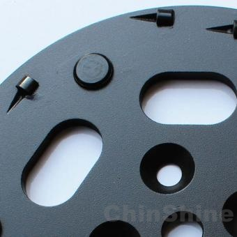 PCD diamond grinding plate and grinding disc