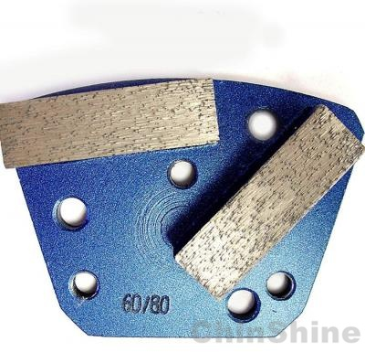 Trapezoid Diamond Grinding Shoe for Diamatic Blastrac