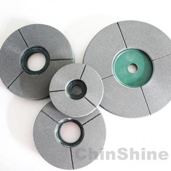 Granite buff polishing wheel