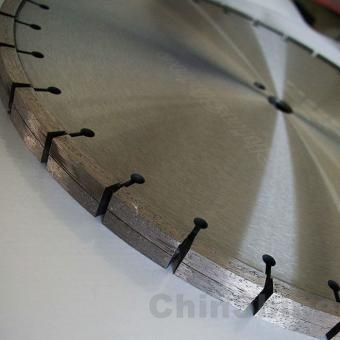 Tuck point diamond blade for concrete