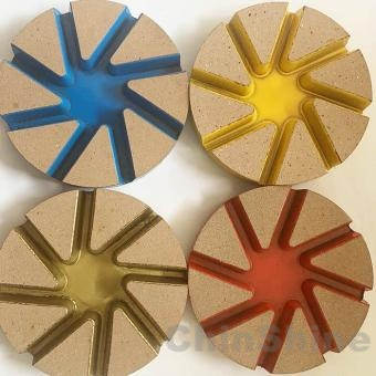 100mm Ceramic Bond Diamond polishing Pads