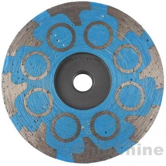 Resin diamond cup wheel for granite marble