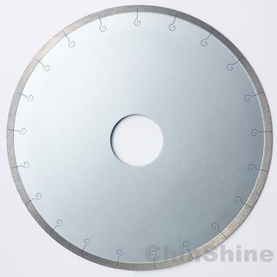 Continuous Rim Diamond saw blade for ceramic