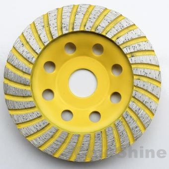 diamond turbo concrete grinding cup wheel