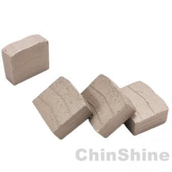 M shape diamond segment for granite multi blades