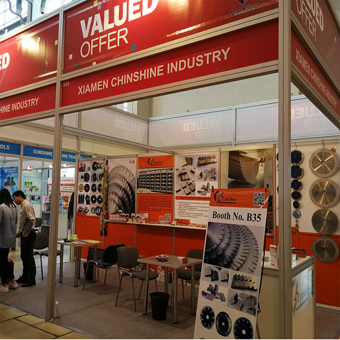 Welcome to Visit us at Moscow Stone Industry International Exhibition B35