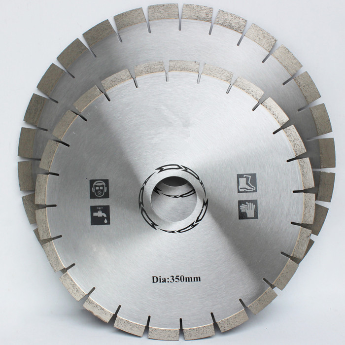 How to make the diamond saw blade cut faster?